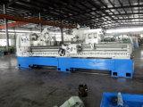 Torno horizontal del CNC de la alta calidad con la rosca de la función