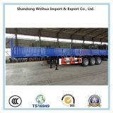 60 tonnellate del camion di rimorchio pratico della parete laterale semi con 3 assi di Fuwa