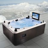 Multi Function Fantastic Hot Jacuzzi Tub mit Fernsehapparat