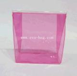 Estándar colorido modificado para requisitos particulares del alcance de la bolsa de la cremallera del PVC del bolso de la autógena del PVC del plástico