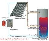 Calefator de água solar pressurizado Split da câmara de ar de vácuo com Keymark solar