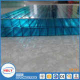 Clear Anti Fog Sunshades UV Protection Hollow Polycarbonate Sheet