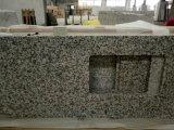 G439 백색 큰 꽃 화강암 부엌 싱크대