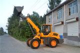 Telescopische het Landbouwbedrijf van de levering 1t 1.5t 2t 2.5t 3t betaalt Lader