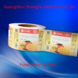 Aliments biologiques imperméables à l'eau adhésifs empaquetant l'étiquette