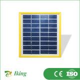 1.7W Poly Solar PV Panel con Plastic Frame (colore giallo)