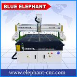 CNC 1325 3D che intaglia il router di CNC 4*8, macchina di legno del router di CNC di 3 assi con il refrigeratore industriale Cw-3000