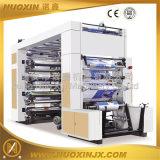 6-kleur de PE/PP/Paper/Non Geweven Flexographic Machine van de Druk (NuoXin)