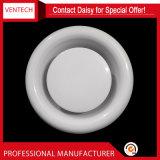 Ventilations-Decken-Diffuser (Zerstäuber) galvanisierte Eisen-Zubehör-Tellerableerventil
