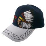 ニースの刺繍Bb199が付いている習慣6のパネルの野球帽