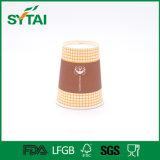 Устранимым изготовленный на заказ напечатанная логосом кофейная чашка высокого качества одностеночная