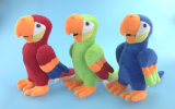 Blue Soft Peluche Toy Parrot