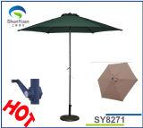 2.7mのテラス傘まっすぐなポーランド人- (SY8271)
