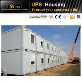 Bequeme einfache bauen die Behälter-Häuser zusammen, die in China gebildet werden