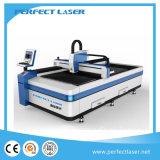La lettera della Manica d'acciaio del metallo firma la tagliatrice del laser della fibra 500W