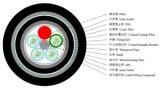 De openlucht Directe Begraven Gepantserde Optische Kabel GYTA53-24 van de Vezel