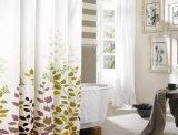 Cortina de chuveiro do banheiro da alta qualidade com impermeável (DPF2460)
