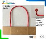 Maniglia di carta della corda del cotone della fibra di cocco pp della iuta per il sacco di carta