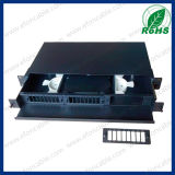 fibra óptica Rack Mount Patch Panel de 2u 19inch 48/96 Port