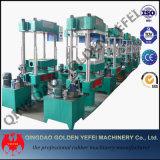 Vulcanizer da borracha de silicone da imprensa hidráulica para os produtos de borracha