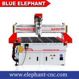 Blauer Elefant CNC-Fräser-hölzerner Ausschnitt 1212, der Maschine für Aluminium für Funktions-Tisch des Verkaufs-1200X1200mm schnitzt