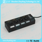4 Schalter 4 LED 4 Port-USB-Nabe 2.0 (ZYF4231)