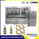 Planta de cristal automática del embotellado para la cerveza de consumición