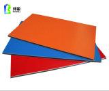 Panneau composé en aluminium d'ACP Acm de feuille en aluminium enduite du PE PVDF