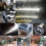 100%の鋼材--GI--電流を通された鋼鉄コイル(0.125mm-3.0mm)
