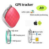 Mini perseguidor de venda quente do GPS em caso de urgência (A9)