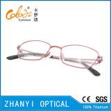 Blocco per grafici di titanio di vetro ottici di Eyewear del monocolo dell'ultimo Pieno-Blocco per grafici di disegno per la donna (9304)
