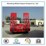 De 5 essieux de Lowbed remorque de camion semi avec lourd