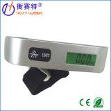 Escala verde da bagagem do indicador 50kg Digitas do luminoso e da temperatura do diodo emissor de luz