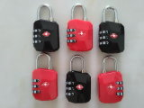 정연한 Tsa 부대 Padlock&Luggage 수 자물쇠