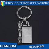 Catena chiave della stampa del metallo su ordinazione di marchio