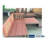 Terraço de madeira do revestimento do projeto WPC do japonês
