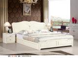 Мебель цвета слоновой кости спальни Kd цвета, дрессер Kd, шкаф, кровать (B2)