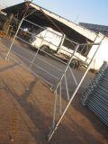 容易家畜の塀、金属のパネルをインストールしなさい