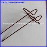 供給の高品質の静電気のスプレーUのタイプ芝地のステープル中国製