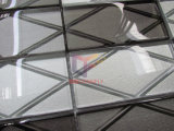 mattone di vetro 3D per il mosaico della spruzzata della cucina (CFC686)