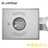 indicatore luminoso di via solare Integrated ricaricabile di 12W LED con movimento