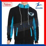 Los recortes de precios baratos de la ropa de deportes de Healong y cosen el Mens Hoodie