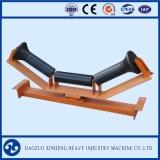 Rouleau et rouleau de convoyage à courroie avec cadre