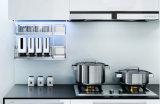 Porte de Module de cuisine d'enveloppe de vinyle de PVC (zc-027)