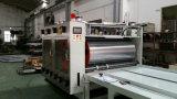 Máquina de impressão ondulada semiautomática de Flexo Longway da caixa