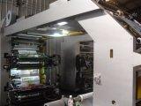 Impresora flexográfica de alta velocidad de 6 de los colores materiales de embalaje
