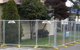 Projeto provisório da cerca da alta qualidade (fábrica)