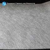 Couvre-tapis coupé noir ignifuge 80G/M2 de fibre de verre de brin