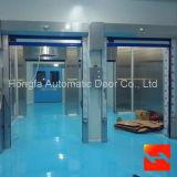 Высокоскоростная дверь завальцовки PVC (HF-1118)