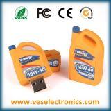 Zoll PVCusb-Blinken-Laufwerk-Karikatur des Förderung-Geschenk-100%